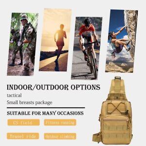 New Khaki Hot Sale Army Mini Tactical Chest Bag Mini Outdoor Shoulder Bag USA !!