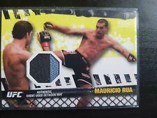 Topps ufc 2010 Mauricio Rua Fight Mat Relic