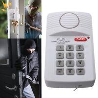 Wireless Security Door Alarm Chime Kit For House Garage Shed Caravan Indoor Keyp