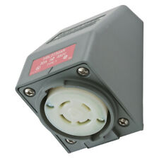 Hubbell HBL2730AR Receptacle Angle Housing Twist-Lock 3-Pole 4-Wire 30A 480V