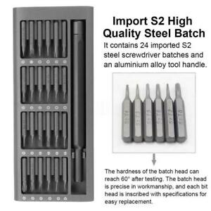 25 In 1 Precision Magnetic Screwdriver Set Multi-Tool Alloy Steel Repair Kit