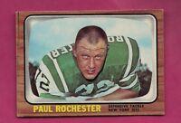 1966 TOPPS # 100 JETS PAUL ROCHESTER NRMT CARD (INV# A4958)