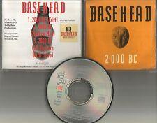 BASEHEAD 2000 BC w/ RARE MELLOW MIX & EDIT 1992 PROMO Radio DJ CD single USA