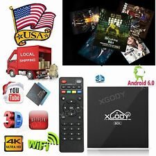 Android Smart 4K TV BOX Preload, 16.1 QUAD CORE. FREE MOVIES,SHOWS,XXX