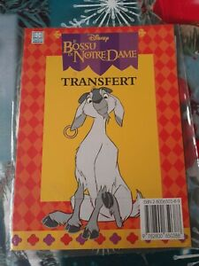 Transfert Quasimodo le Bossu de Notre Dame Disney Hemma Vintage 1996 #4 A-36