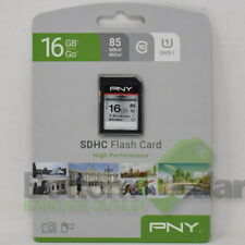 PNY 16GB High Performance SDHC UHS-I 85MB 3.5/Hr HD Video Memory Card