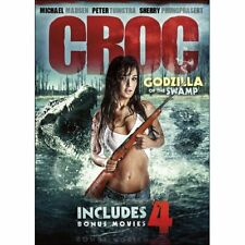 5-Movie Maneater Collection Croc Godzilla of the Swamp +  Region 1 DVD New
