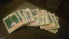 Original TOPPS (les 5) Chewing-gum Football cartes (1977) rouge et rose dos