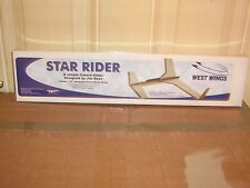 STAR RIDER - West Wings a Simple canard Glider Balsa Wood Model Plane Kit