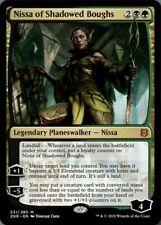 ***4x Nissa of Shadowed Boughs*** MTG Zendikar Rising ZNR MINT Kid Icarus