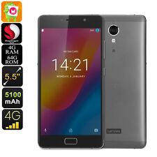 Lenovo Vibe P2 Smartphone - 5.5 Inch FHD Display, Dual-IMEI, 4G, Fingerprint