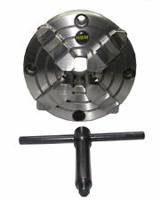 RDGTOOLS 125MM 4 JAW INDEPENDENT LATHE CHUCK FRONT MOUNT MYFORD