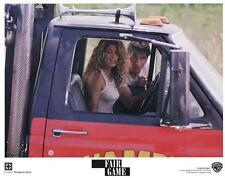 FAIR GAME - 1995 - original 11x14 LOBBY CARD #8 - CINDY CRAWFORD - SEXY in truck