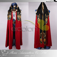 EE0014BL Code Geass R2 Suzaku Knight of Zero Deluxe ver Cosplay costume