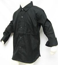 $175 Burberry Children Kids Boy 6Y 116cm Dress Shirts Cotton Coat Holiday Gift