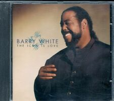 CD ALBUM 11 TITRES--BARRY WHITE--THE ICON IS LOVE