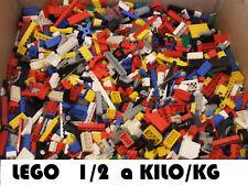Lego 500g moitié KG briques blocs pièces aléatoire assorti pentes plaques grand