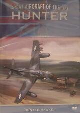 Hawker Hunter RAF Aircraft Aeroplane Jet Fighter  Documentary DVD