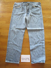 destroyed levi feather 501 usa jean tag 42x34 meas 38x31 11429F