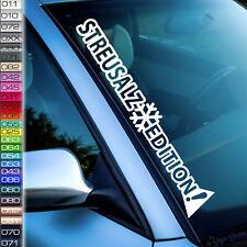 Winter Streusalz-Edition Frontscheibe Aufkleber Schnee Mobil Auto Eisspay  W45