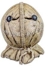Trick R Treat Sam Burlap Jack-o-Lantern Full Head Halloween Costume Mask BFLE100
