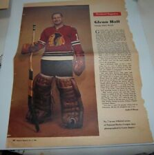 Glenn Hall # 7 Weekend  Magazine Photos 1962-63  Toronto Star lot 4