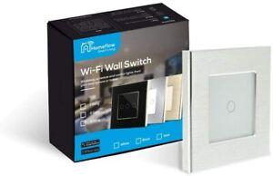 WiFi Smart Light Switch Smart Light Aluminium Switch - 1 Gang