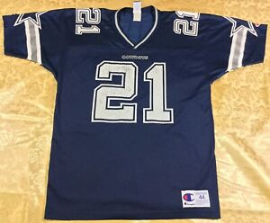 Vintage Dallas Cowboys Deion Sanders #21 Football-NFL Champion Jersey Size44