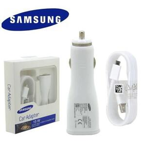 Samsung Galaxy FAST Car Charger + 1.2M Type C cable for S10 5G S9 S8 Plus A30 50