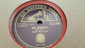 MAX MILLER THE WINDMILL & LA DE DA HMV BD439