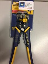 IRWIN Industrial Tools 2078300 8-inch Self-adjusting Wire Stripper With ProTouch