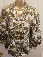 Woman's Jacket Blazer Ladies Size 12 By Designer Requirments Stylish Slimming