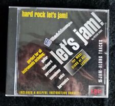 Watch and Learn - Let's Jam by Peter Vogl Hard Rock Jam Along Cd Booklet New