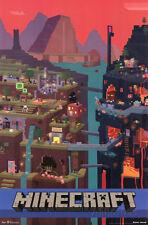 Minecraft Cube Poster Print, 22x34
