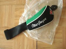 MACGREGOR MT HYBRID RESCUE HEADCOVER w/ # disc - GREEN & BLACK - VERY GOOD
