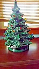 "Vintage 19"" Ceramic Christmas Light Up Decoration Tree"
