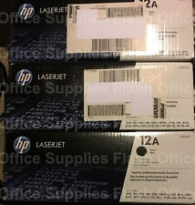 Genuine HP 12A Q2612A CARTUCCIA TONER 1010 1020 3015 3020 3030 3050 IVA INCLUSA