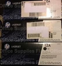 HP 12A Q2612A genuino Toner cartucho 1010 1020 3015 3020 3030 3050 Iva Incluido