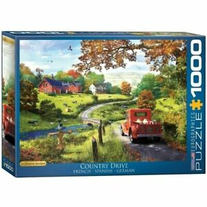 Eurographics Puzzle 1000 Piece Jigsaw - The Country Drive EG60000968