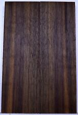 "knife Scales BLACK WALNUT Bookmatch Pistol Grip 5"" x 1 1/2"" Wood BULK"