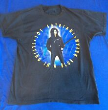 Vtg 1990 Joe Satriani Flying In A Blue Dream Band Concert Tour T Shirt Size M
