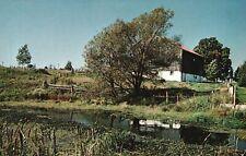 Vintage Postcard Picturesque Farm Scene In Southern Ontario Canada Pub Schneider