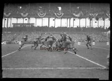 Vintage 1926 New York Yankees Football Red Grange Yankee Stadium Negative #9
