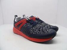 Puma Men's Aril Splatter Athletic Shoe Peacoat/High Risk Red/White Size 10M