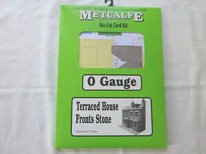 METCALFE O GAUGE TERRACED HOUSE FRONTS 0803 [SEALED]