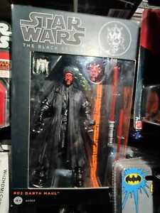 "Star Wars The Black Series #02 Darth Maul 6"" Action Figure Genuine Hasbro New"