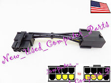 ➨➨➨ Right Angle Female 8-Pin PCI-E to 8-Pin Video Card Adpted Power Adpt. ➨➨➨