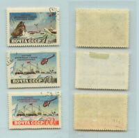 Russia USSR, 1955 SC 1765-1767, Z 1757-1759 used. rtb1719