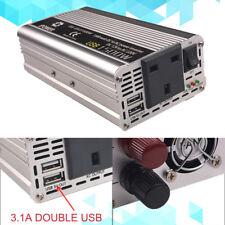 1500W / 3000W converter power inverter DC 12V to AC 220V 230V 240V invertor USB