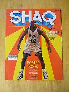 """NBA - """"Shaq"""" Poster Book - 1995 - EXCELLENT"""